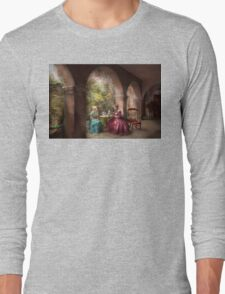 Tea Party - Sharing tea with Grandma 1936 Long Sleeve T-Shirt