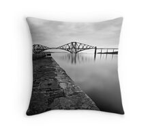 South Queensferry - Flat Calm Throw Pillow