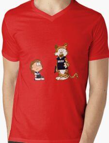 Dotted the I! Mens V-Neck T-Shirt