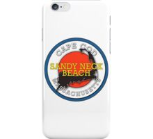 Sandy Neck Beach - Cape Cod Massachusetts iPhone Case/Skin