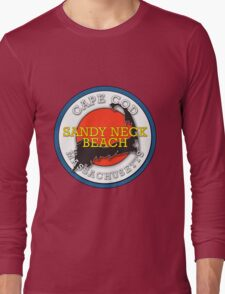 Sandy Neck Beach - Cape Cod Massachusetts Long Sleeve T-Shirt
