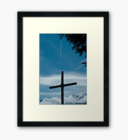 The Airplane Framed Print