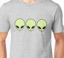 Three Best Alien Friends Unisex T-Shirt