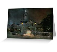 Czocha castle..... Greeting Card