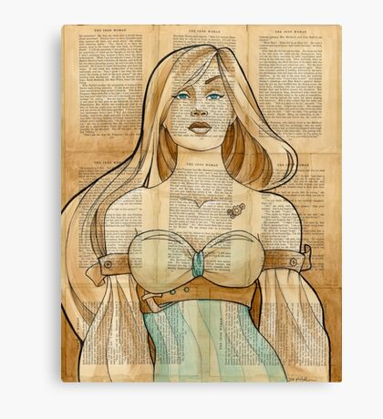 Iron Woman 8 Canvas Print
