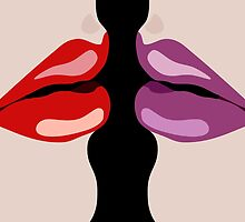 TWIN LIPS by THEUSUALDESIGN