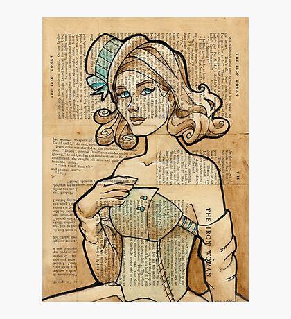 Iron Woman 7 Photographic Print