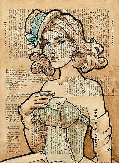 Iron Woman 7 by Karen  Hallion