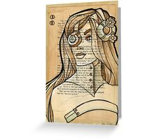 Iron Woman 6 Greeting Card