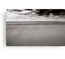 Empty BW Canvas Print