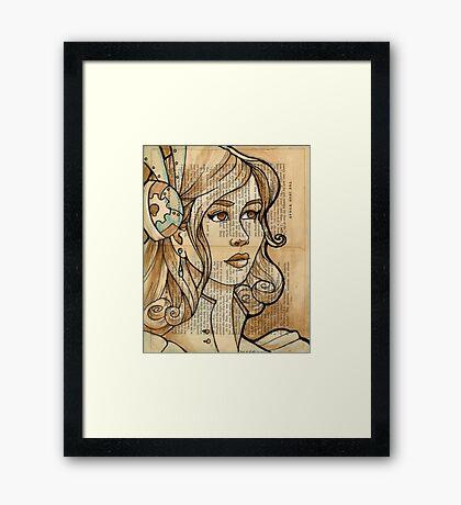 Iron Woman 2 Framed Print