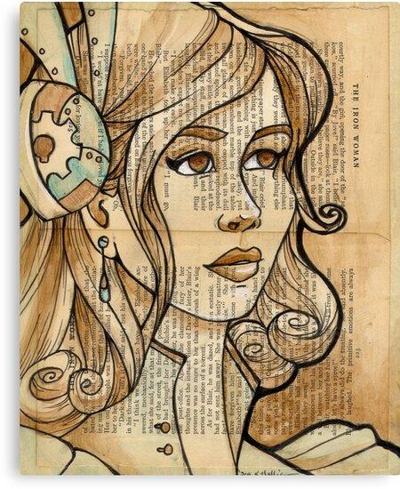 Iron Woman 2 by Karen  Hallion