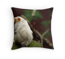Ignorant Primate Throw Pillow