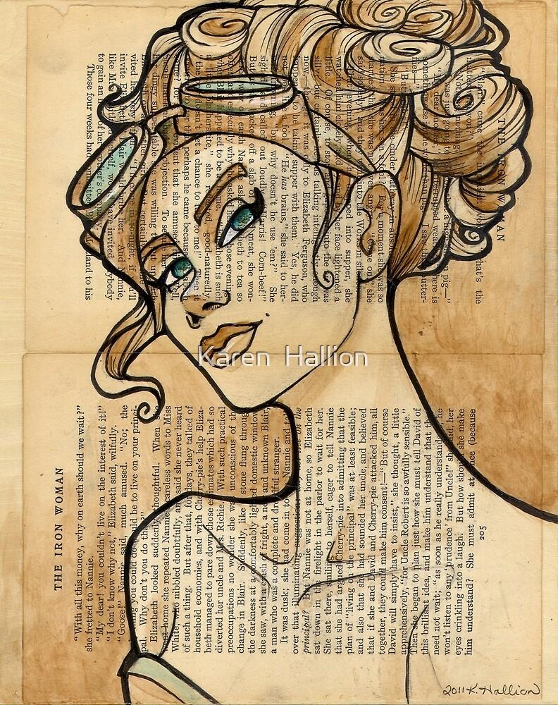 Iron Woman 5 by Karen  Hallion