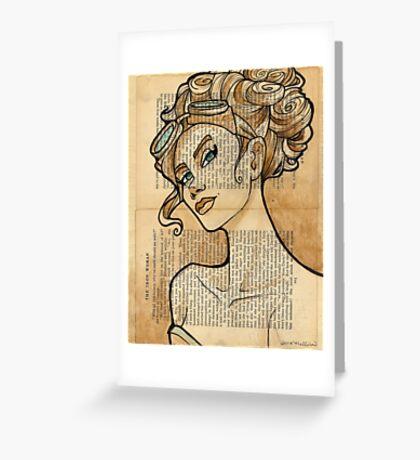 Iron Woman 5 Greeting Card