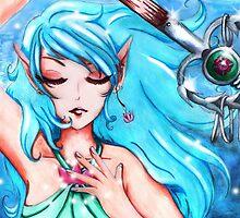 Water Priestess by MellonSunrise