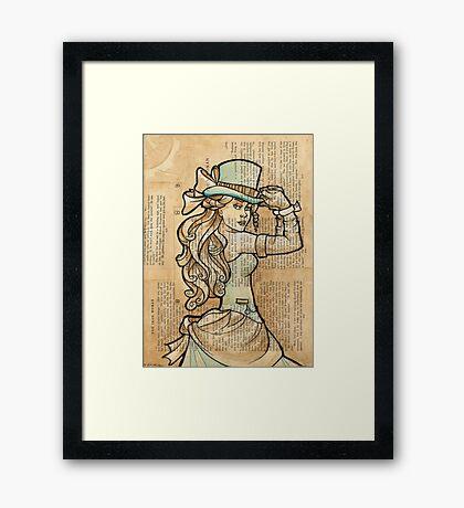 Iron Woman 3 Framed Print