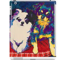 Spectra Dexter and Harvey by Asra Rae iPad Case/Skin