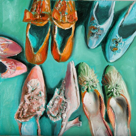 Marie's shoes by adrianazag