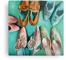 Marie's shoes Metal Print