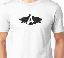 Alpha Suits Logo - Black Unisex T-Shirt