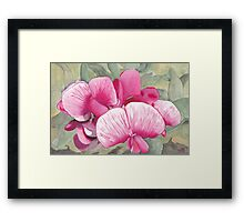 Snake Lake Wildflower Framed Print