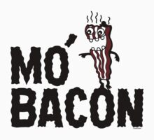 MO' BACON on lights Kids Tee