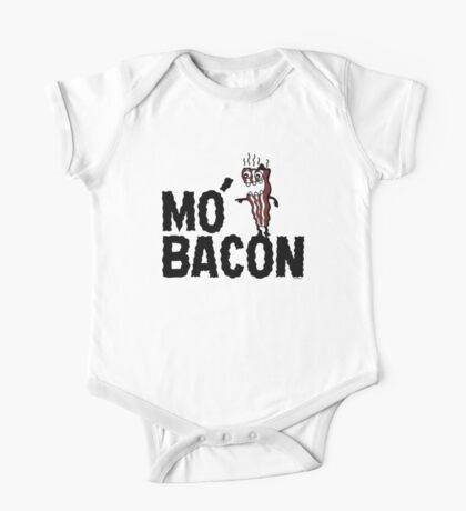 MO' BACON on lights One Piece - Short Sleeve