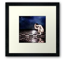 What will the future bring... Framed Print