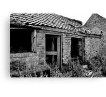 Abandoned Workplace Canvas Print