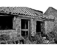 Abandoned Workplace Photographic Print