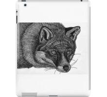Fox Hand Drawing in Pen iPad Case/Skin