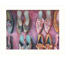 More Shoes Art Print