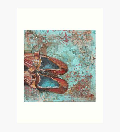 Walk away Art Print