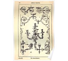 A Handbook Of Ornament With Three Hundred Plates Franz Sales Meyer 1896 0388 Metal Objects Candle Bracket Poster