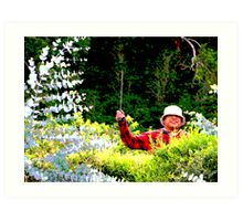Panamanian Hedge Trimmer Art Print