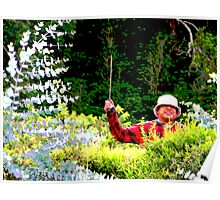 Panamanian Hedge Trimmer Poster