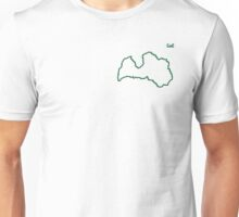"""Latvia """"Citizen of the Earth"""" small Unisex T-Shirt"""