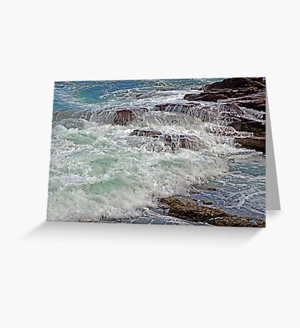 Thunder and Lace Greeting Card