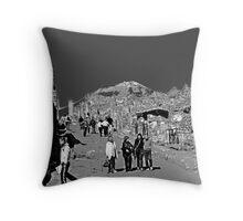 Pompeii And Vesuvius II Throw Pillow