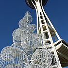 Space Needle Bubbles by monteropix