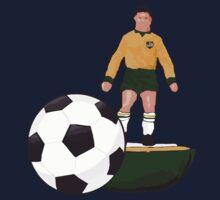 Retro  Table Football Australia 73 by Auslandesign