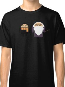 Harry Pottroid and Dumbledroid Classic T-Shirt
