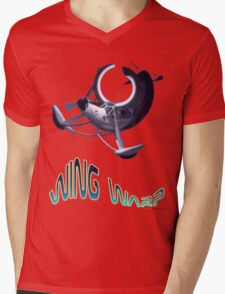 Storch Wing Warp T-shirt Design Mens V-Neck T-Shirt
