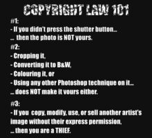 COPYRIGHT LAW 101 #1 by BYRON