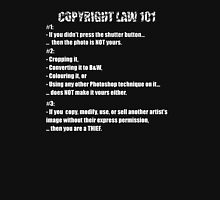 COPYRIGHT LAW 101 #1 T-Shirt