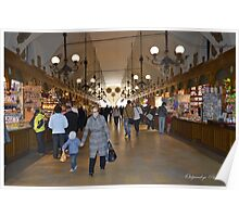 The Cloth Hall Market Poster