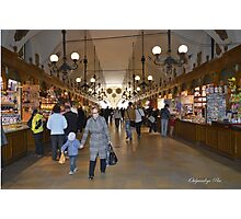 The Cloth Hall Market Photographic Print