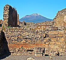 Pompeii And Vesuvius IV by Al Bourassa