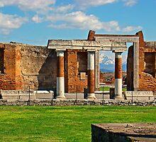 Pompeii Forum III by Al Bourassa
